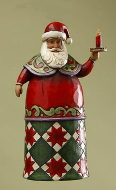 Look at this Santa Holding Candle Ornament Christmas Nativity, Father Christmas, Christmas Stockings, Christmas Ornaments, Christmas Ideas, Hanging Candles, Hanging Ornaments, Paper Clay Art, Paper Mache