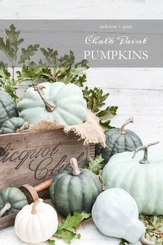 Looking for a project to transform some plastic craft store pumpkins?  Check out…
