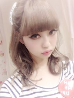 • beauty cute japan japanese kawaii beautiful asian cute girl cuteness Japanese Fashion Gyaru moe risa japanese girl beautiful girl asian girl risa doll tifak-babydolls •
