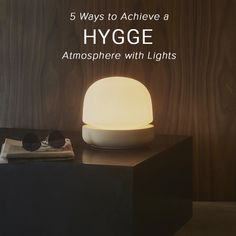 Image result for hygge evening lamps What Is Hygge, Hygge Book, Cool Lighting, Lighting Ideas, Earthship Home, Dinner And A Movie, A Table, Table Lamps, Paint Colors For Living Room