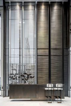 Lobby Interior, Luxury Interior, Interior Architecture, Interior Design, Reception Desk Design, Lobby Reception, Feature Wall Design, Hotel Lobby Design, Commercial Office Design