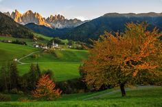 Santa Maddalena by Nicola Fedrizzi on 500px     Tirol, Italy