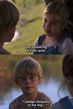 """Say something.."" ~ My Girl (1991) ~ Movie Quote #amusementphile"