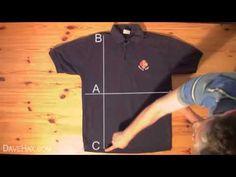 Сложить футболку за 2 секунды - YouTube