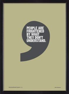 A True Quote! from Joseph Merrick