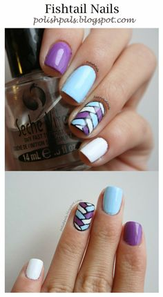 Fishtail Nails