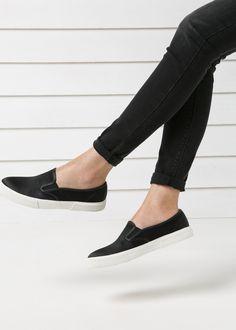 Satin-Sneaker zum Einschlüpfen