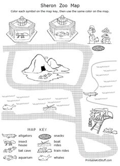Worksheet Map Skills Worksheets 3rd Grade legends activities and student on pinterest