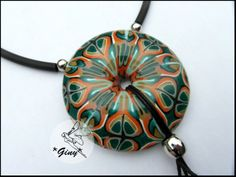 Nice cane by Giny- see link for photo of cane and other creations with it