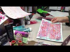 Patti Parrish - 1st attempt at video - Gelli Plate Love