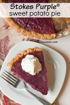 Purple® sweet potato pie recipe, using gorgeous purple sweet potatoes ...