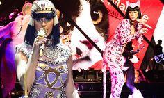 Katy Perry kicks off Prismatic World Tour in Egyptian fashion