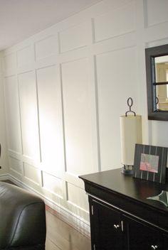 Rambling Renovators Reader Project Living Room Re Do Dining Walls Wainscoting