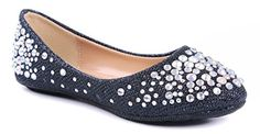 Link Ballet Flats Your little darling is going to love showing off her glam side with this sparkling flat. This mesh glitter round toe ballet flat is Girls High Heel Shoes, Girls Dress Shoes, Girls Flats, Boy Shoes, Black Loafers, Fashion Shoes, Ballet Fashion, Shoes Online, Ballet Flats