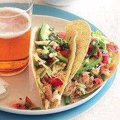 Crab Tacos   Quick & Easy Summer Dinner Recipes - Sunset