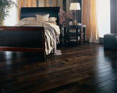 espresso stained floors - Google Search