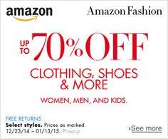 Amazon http://www.amazon.com/b/?ref_=assoc_tag_ph_1419128121517&_encoding=UTF8&camp=1789&creative=9325&field-enc-merchantbin=ATVPDKIKX0DER&linkCode=pf4&node=10151476011&tag=wonderfulrota-20&linkId=JC54KKYWVNPHYAXU #amazon #clothing #shoes