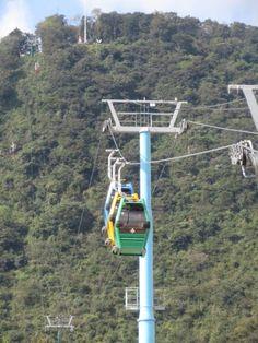 El Teleférico de Orizaba Veracruz.