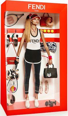 "Barbie fashionista: o editorial da ""Vogue"" Paris Fashion Shoot, Fashion Art, Editorial Fashion, Kids Fashion, Magdalena Frackowiak, Barbie Fashionista, Vogue Paris, Reborn Toddler Dolls, New Dolls"