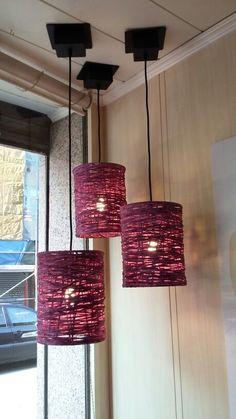 Nuevo diseño.  Ha quedado espectacular Lighting, Lamp, Ceiling Lights, Chandelier Makeover, Rustic Crafts, Makeover, Home Decor, Pendant Light, Chandelier
