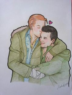 More #Gallavich fan art