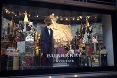 The stunning @burberry #Christmas window in#RegentStreet.