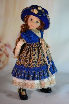 """""""Beauty of Autumn"""" Dress Outfit Clothes for 13"""" Dianna Effner Little Darling #Unbranded"""