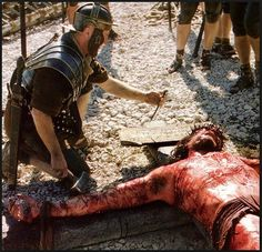 Jesus reaches Calvary