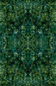 """Oriental rug"" made from granite.  verde ubatuba"