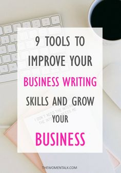 This post was guest authored by Mary Walton Your business writing skills are a huge factor in your growth at work. It's the main way ...