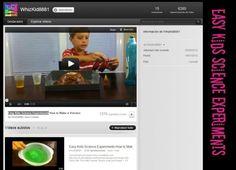 Canales de #Youtube para aprender experiencias científicas para niños