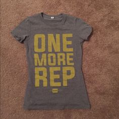 Crossfit tshirt bundle Both size small, never worn! Came with my WODbox Tops Tees - Short Sleeve