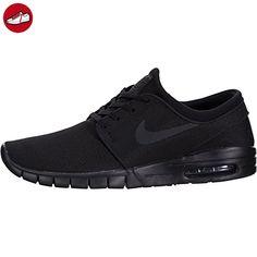 Nike Herren Stefan Janoski Max Skateboardschuhe, Mehrfarbig (Black/Black/Anthracite/Black), 45 EU - Nike schuhe (*Partner-Link)