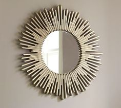 Shop Pottery Barn for decorative mirrors that feature simple designs and easy style. Find large, small and round mirrors and create a warm space with reflective light. Pottery Barn Furniture, Entry Furniture, Mirrored Furniture, Furniture Ideas, Furniture Cleaning, Furniture Market, Entry Mirror, Mirror House, Round Wall Mirror