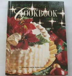 $3.00 Spirit of Christmas Cookbook Vol. 2 1997 HC (51415-992) holiday cookbook