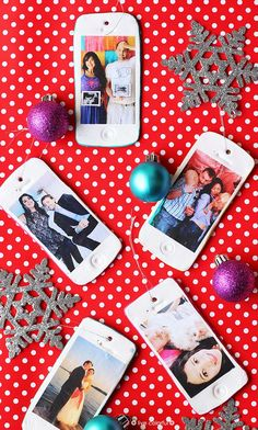 Make your Own Personalized IPhone Ornaments | Live Colorful for Club Chica Circle