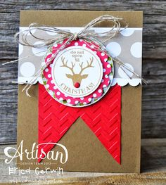 Christmas card by Pink Buckaroo Designs