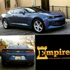 Congratulations Harout on your Brand New Chevy Camaro.  Enjoy your new ride and welcome to the Empire Auto Family.  #empireauto #new #car #lease #purchase #finance #refinance #newcarlease #newcarfinance #leasingcompany #customerservice #GlenoaksBlvd #glendale #brokerage #autobrokersales #autobroker #autobrokers #wholesaler #freeoilchange #freemaintanance #2016chevycamaro