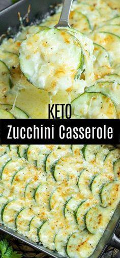 Zucchini Casserole, Vegetable Casserole, Keto Casserole, Casserole Recipes, Vegetable Bake, Vegetable Meals, Hamburger Casserole, Chicken Casserole, Great Recipes
