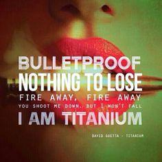 Titanium-David Guetta ft. Sia