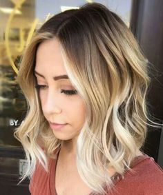 Breathtaking Medium Ombre Hairstyles 2018 for a Trendy Look