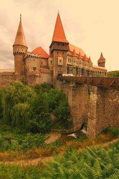 Corvin Castle, also known as Hunyadi Castle or Hunedoara Castle, is a Gothic-Renaissance castle in Hunedoara, in Romania. It is one of the largest castles in Europe and figures in a top of seven wonders of Romania. Places Around The World, Oh The Places You'll Go, Places To Travel, Places To Visit, Around The Worlds, Beautiful Castles, Beautiful Buildings, Beautiful World, Beautiful Places