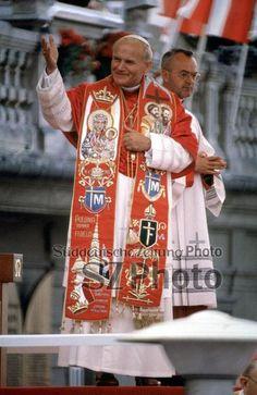 Pope John Paul II's first Pilgrimage to Poland Forum/Süddeutsche Zeitung Photo