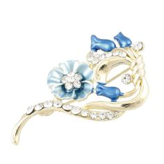 Rosallini Lady Dress Adornment Rhinestone Accent Blue Flower Pin Brooch Broach Gift Rosallini,http://www.amazon.com/dp/B00BXX2J16/ref=cm_sw_r_pi_dp_g1ujsb14VR8KSJP7
