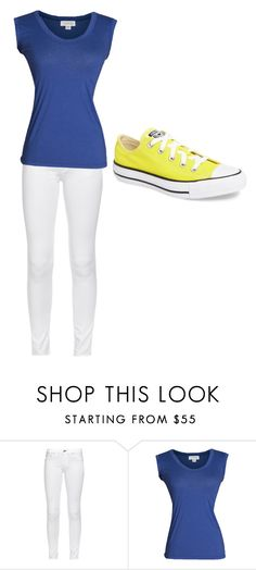 """Disney Inspired Outfit: Donald Duck"" by flowergirl1301 on Polyvore featuring rag & bone, Velvet by Graham & Spencer and Converse"