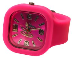 Pretty in Pink watch from Fly watches. $40