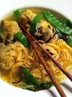 Wonton Soup -- Taste the full flavor of every meal by adding Ac'cent - accentflavor.com #wonton #asian #soup