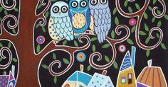Karla Gerard Owl's   Дети   Pinterest   Owl, Dibujo and Chang'e 3