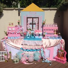 Vintage First Birthday Party