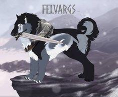 Hati 922 by Ulfrheim on DeviantArt Cartoon Dog Drawing, Big Wolf, Beast Creature, Fantasy Monster, Furry Art, Mythical Creatures, Animal Pictures, Animation, Deviantart